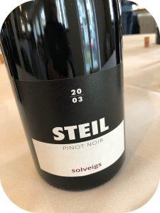 2003 Weingut Solveigs, Pinot Noir Steil, Rheingau, Tyskland