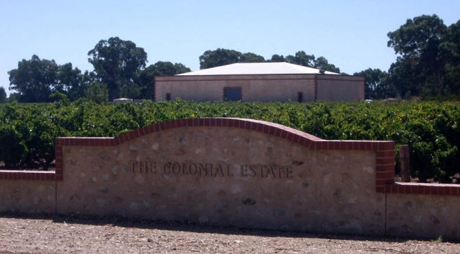 2005 The Colonial Estate, Exodus Chardonnay, South Australia, Australien