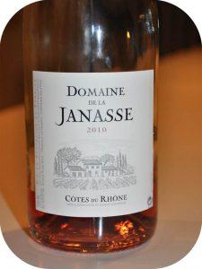 2010 Domaine De La Janasse, Côtes du Rhône Rose, Rhône, Frankrig