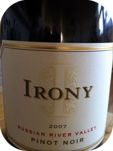 2007 DFV Wines, Irony Russian River Pinot Noir, Californien, USA