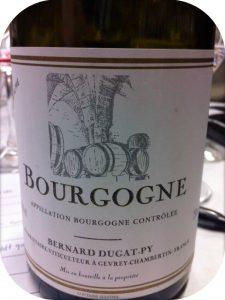 2009 Domaine Bernard Dugat-Py, Bourgogne Rouge, Bourgogne, Frankrig