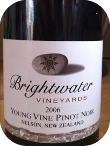 2006 Brightwater Vineyards, Young Vine Pinot Noir, Nelson, New Zealand