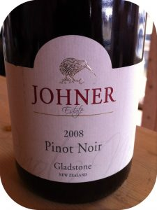 2008 Johner Estate, Pinot Noir, Wairarapa, New Zealand