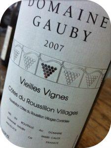 2007 Domaine Gauby, Côtes du Roussillon Vieilles Vignes, Roussillon, Frankrig