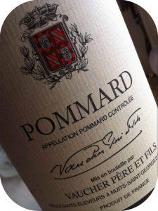 2000 Vaucher Père et Fils, Pommard, Bourgogne, Frankrig