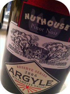 2006 Argyle Winery, Nuthouse Pinot Noir, Oregon, USA