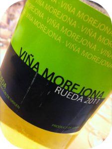 2011 Bodegas Frutos Villar, Viña Morejona Blanco, Rueda, Spanien