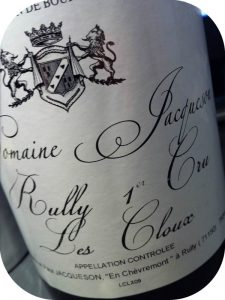 2009 Domaine Jacqueson, Rully 1er Cru Les Cloux, Bourgogne, Frankrig