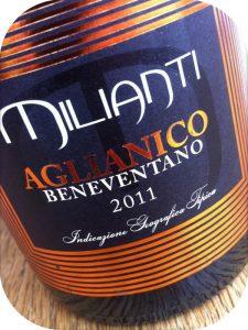 2011 Milianti, Aglianico Beneventano IGT, Campanien, Italien
