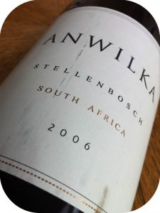 2006 AnWilka, AnWilka, Stellenbosch, Sydafrika