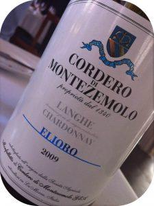 2009 Cordero di Montezemolo, Langhe Chardonnay Elioro, Piemonte, Italien