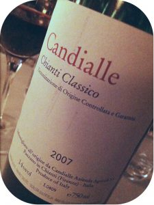 2007 Candialle, Chianti Classico, Toscana, Italien