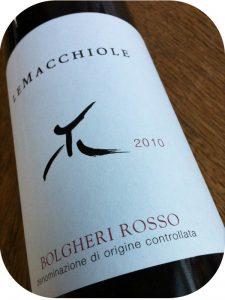 2010 Le Macchiole, Bolgheri Rosso, Toscana, Italien