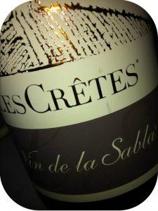 N.V. Les Crêtes, Vin de la Sabla, Valle d'Aosta, Italien