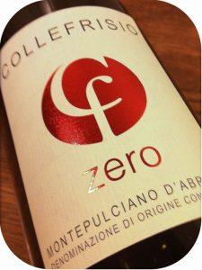 2009 Azienda Collefrisio, Zero Montepulciano d'Abruzzo, Abruzzo, Italien
