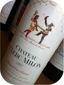 1997 Château Clerc Milon, Pauillac Grand Cru Classé, Bordeaux, Frankrig