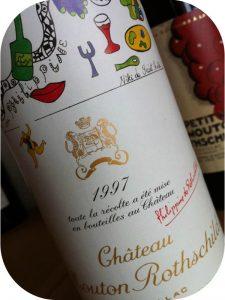 1997 Château Mouton Rothschild, Pauillac, Bordeaux, Frankrig