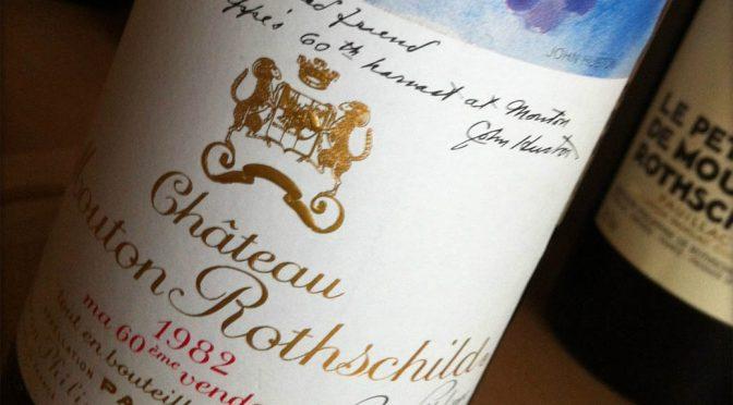 Mouton Rothschild smagning … en lørdag eftermiddag