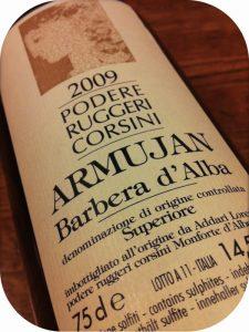 2009 Podere Ruggeri Corsini, Armujan Barbera d'Alba Superiore, Piemonte, Italien