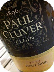 2009 Paul Cluver, Pinot Noir, Elgin, Sydafrika