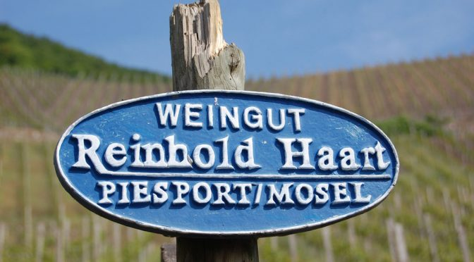 2011 Weingut Reinhold Haart, Goldtröpfchen Riesling Großes Gewächs, Mosel, Tyskland