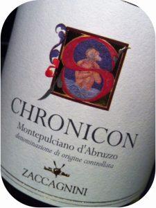 2008 Cantina Zaccagnini, Montepulciano d`Abruzzo Chronicon, Abruzzo, Italien