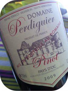 2009 Domaine Perdiguier, Pinot Noir Pays d'Oc, Languedoc-Roussillon, Frankrig
