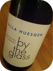 2011 Weingut Villa Huesgen, Riesling By the Glass, Mosel, Tyskland