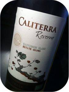 2012 Caliterra Winery, Sauvignon Blanc Reserva, Colchagua Valley, Chile