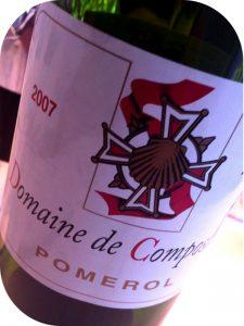 2007 Domaine de Compostelle, Pomerol, Bordeaux, Frankrig