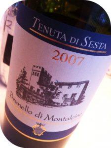 2007 Tenuta di Sesta, Brunello di Montalcino, Toscana, Italien