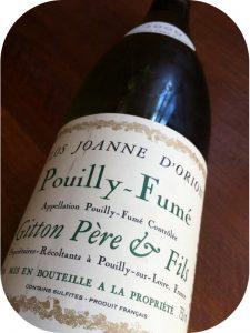 2009 Gitton Pere Et Fils, Pouilly-Fumé Clos Joanne D'Orion, Loire, Frankrig