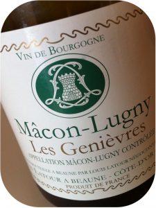 2011 Maison Louis Latour, Mâcon-Lugny Les Genièvres, Bourgogne, Frankrig