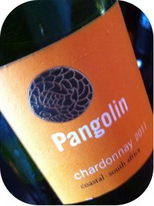 2011 Stark-Condé Wines, Pangolin Chardonnay, Stellenbosch, Sydafrika