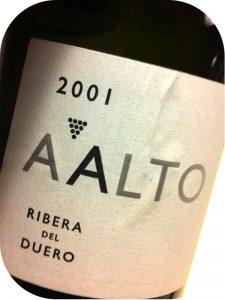 2001 Bodegas Aalto, Aalto, Ribera del Duero, Spanien