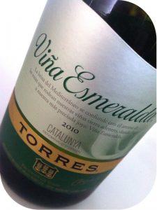 2010 Miguel Torres, Viña Esmeralda, Catalonien, Spanien