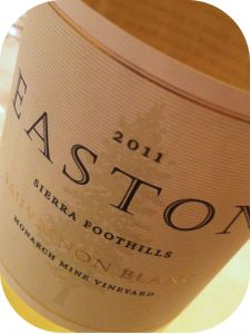 2011 Easton Wines, Sauvignon Blanc, Californien, USA