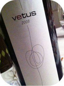 2008 Bodegas Vetus, Vetus, Toro, Spanien