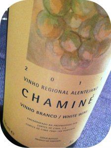 2011 Cortes de Cima, Chaminé Branco, Alentejo, Portugal