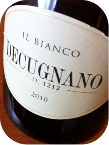 2010 Decugnano Dei Barbi, Il Bianco di Decugnano, Umbrien, Italien
