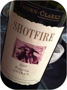2009 Thorn-Clarke, Shotfire Shiraz, Barossa Valley, Australien