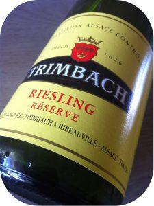 2010 F. E. Trimbach, Riesling Réserve, Alsace, Frankrig