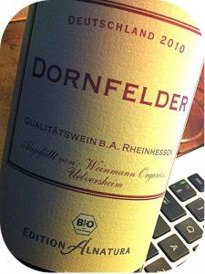 2010 Weinman Organics, Dornfelder Edition Alnatura, Rheinhessen, Tyskland