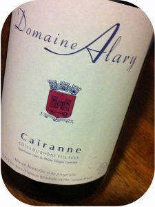 2011 Domaine Alary, Cairanne Cuvée Tradition Côtes du Rhône Villages, Rhône, Frankrig