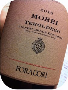 2010 Foradori, Morei Teroldego, Alto Adige, Italien