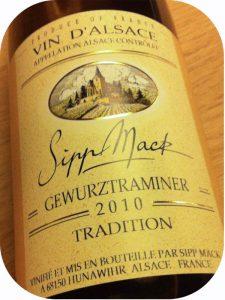 2010 Domaine Sipp Mack, Gewurztraminer Tradition, Alsace, Frankrig