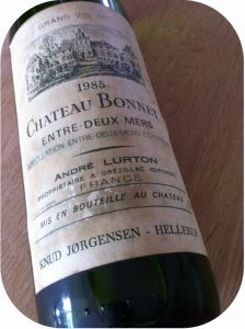 1985 Château Bonnet, Entre-Deux-Mers, Bordeaux, Frankrig