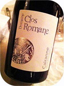 2012 Domaine Clos Romane, Cairanne Côtes du Rhône Villages, Rhône, Frankrig