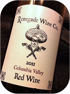 2011 Renegade Wine Co., Columbia Valley Red Wine, Washington State, USA