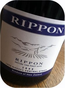 2008 Rippon Winery, Mature Vine Pinot Noir, Otago, New Zealand